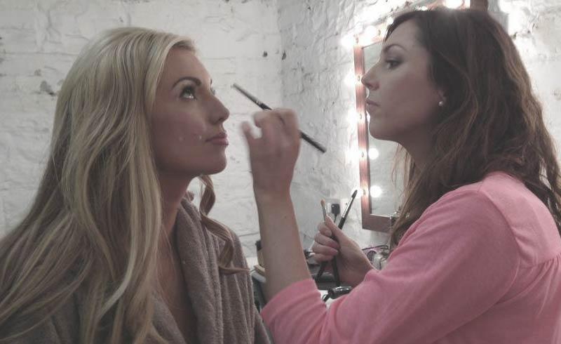 rosanna davison celebrity makeup adele miley